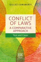 Omslag - Conflict of Laws: A Comparative Approach