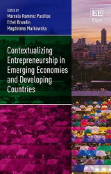Omslag - Contextualizing Entrepreneurship in Emerging Economies and Developing Countries