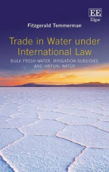 Omslag - Trade in Water Under International Law