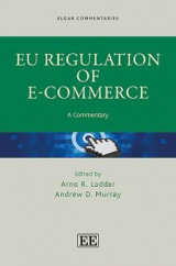 Omslag - EU Regulation of e-Commerce
