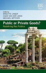 Omslag - Public or Private Goods?