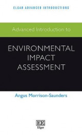 Omslag - Advanced Introduction to Environmental Impact Assessment