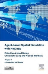 Omslag - Agent-Based Spatial Simulation with NetLogo Volume 1