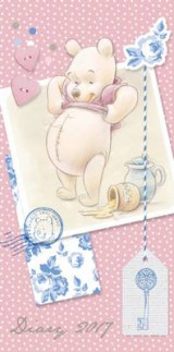 Omslag - Winnie the Pooh Official 2017 Diary (Pocket)