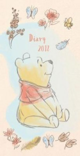 Omslag - Winnie The Pooh Official 2018 Diary - Week to View Slim Pocket Format