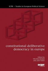 Omslag - Constitutional Deliberative Democracy in Europe