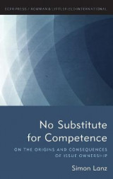 Omslag - No Substitute for Competence