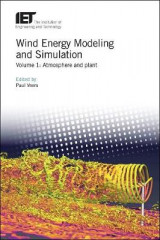 Omslag - Wind Energy Modeling and Simulation: Volume 1