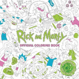 Omslag - Rick and Morty Official Coloring Book