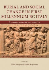 Omslag - Burial and Social Change in First Millennium BC Italy