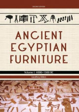 Omslag - Ancient Egyptian Furniture: Volume 1