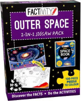 Omslag - Factivity Outer Space 2-in-1 Jigsaw Pack