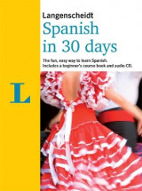 Omslag - Spanish in 30 days CD