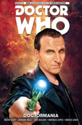 Omslag - Doctor Who: The Ninth Doctor: Doctormania Volume 2