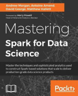 Omslag - Mastering Spark for Data Science