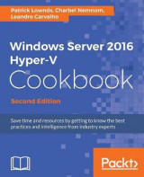 Omslag - Windows Server 2016 Hyper-V Cookbook