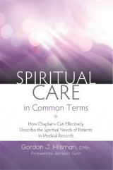 Omslag - Spiritual Care in Common Terms