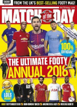 Omslag - Match of the Day Annual 2018