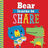 Omslag - Playdate Pals: Bear Learns to Share