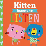 Omslag - Playdate Pals: Kitten Learns to Listen