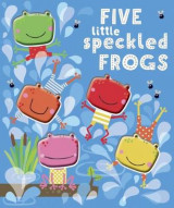Omslag - Five Little Speckled Frogs