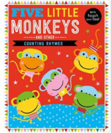Omslag - Five Little Monkeys and Other Counting Rhymes