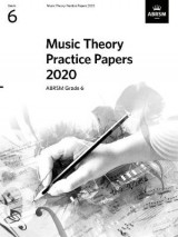 Omslag - Music Theory Practice Papers 2020, ABRSM Grade 6