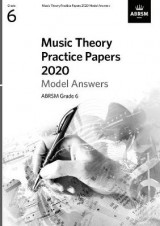 Omslag - Music Theory Practice Papers 2020 Model Answers, ABRSM Grade 6