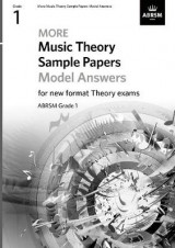 Omslag - More Music Theory Sample Papers Model Answers, ABRSM Grade 1