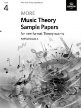 Omslag - More Music Theory Sample Papers, ABRSM Grade 4
