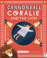 Omslag - Cannonball Coralie and the Lion