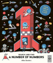 Search and Find A Number of Numbers av AJ Wood (Innbundet)