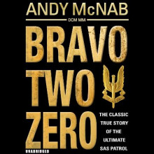 Bravo Two Zero av Andy McNab (Lydbok-CD)