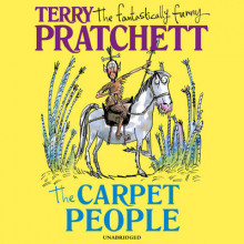 The Carpet People av Terry Pratchett (Lydbok-CD)