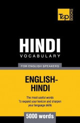 Omslag - Hindi Vocabulary for English Speakers - 5000 Words