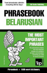 Omslag - English-Belarusian Phrasebook and 1500-Word Dictionary