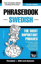 Omslag - English-Swedish Phrasebook and 3000-Word Topical Vocabulary