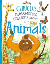 Curious Questions & Answers About Animals av Camilla De la Bedoyere (Innbundet)