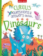 Curious Questions & Answers About Dinosaurs av Camilla de la Bedoyere (Innbundet)