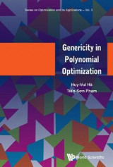 Omslag - Genericity In Polynomial Optimization