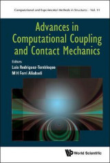 Omslag - Advances In Computational Coupling And Contact Mechanics
