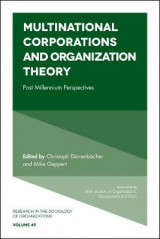 Omslag - Multinational Corporations and Organization Theory