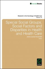Omslag - Special Social Groups, Social Factors and Disparities in Health and Health Care