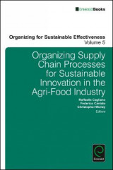 Omslag - Organizing Supply Chain Processes for Sustainable Innovation in the Agri-Food Industry
