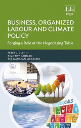 Omslag - Business, Organized Labour and Climate Policy