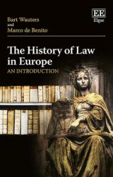 Omslag - The History of Law in Europe