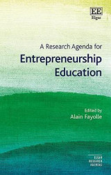 Omslag - A Research Agenda for Entrepreneurship Education