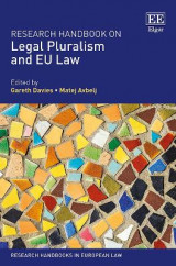 Omslag - Research Handbook on Legal Pluralism and Eu Law