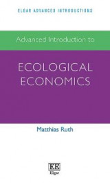 Omslag - Advanced Introduction to Ecological Economics