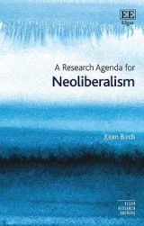 Omslag - A Research Agenda for Neoliberalism